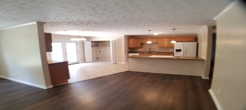 Great Room into Kitchen